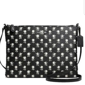 Coach East West Crossbody & Wristlet